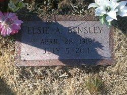 Elsie A. <i>Kittel</i> Bensley