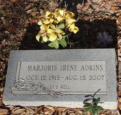 Marjorie Irene Margie <i>Hickman</i> Adkins