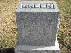 Mary Ellen <i>Miles</i> Green