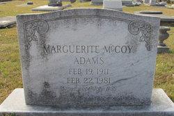 Marguerite <i>McCoy</i> Adams