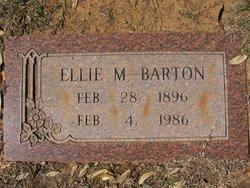 Ellie M <i>Boone</i> Barton