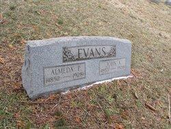 Almeda Phoebe <i>Bacon</i> Evans