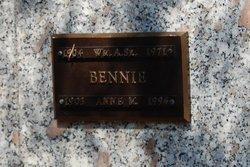 William A Bennie, Sr