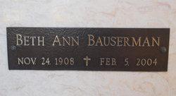 Beth Ann Bauserman