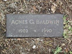 Agnes G Baldwin