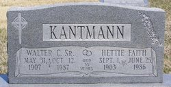 Hettie Myrl <i>Faith</i> Kantmann