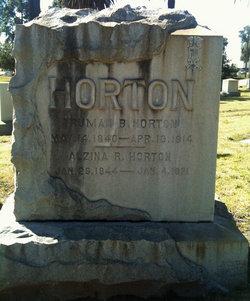 Alzina R Horton