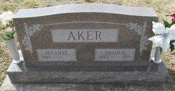 David E. Aker