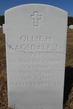 Ollie H Ragsdale, Jr