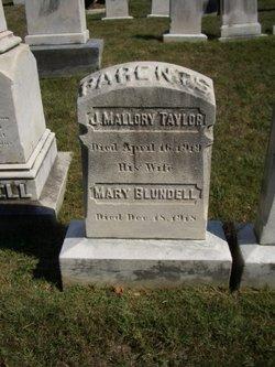 Mary Regina <i>Blundell</i> Taylor