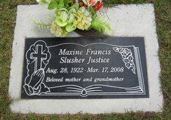 Maxine <i>Raffety</i> Justice