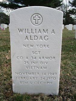 Sgt William A Aldag