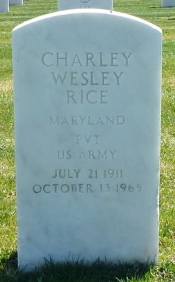 Charley Wesley Rice