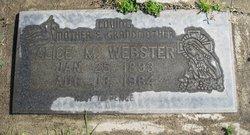 Alice Mary <i>Baltazor</i> Webster