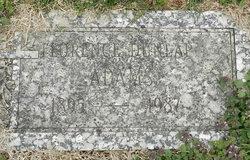 Florence <i>Dunlap</i> Adams