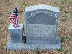 Alfred L. Henderson