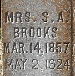 Saphronia Angeline <i>Buchanan</i> Brooks
