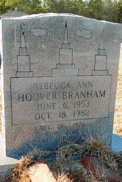 Rebecca <i>Hoover</i> Branham