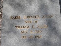 Isabel <i>Edwards</i> Allen