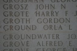 Sgt Harry Frederick Grote, Jr