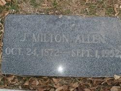 Joseph Milton Milt Allen
