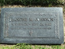Blanche Margaret <i>McPherson</i> Johnson