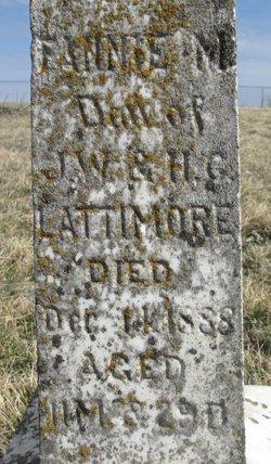 Fannie M. Lattimore
