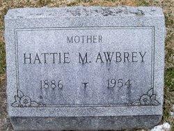 Hattie M <i>Staley</i> Awbrey