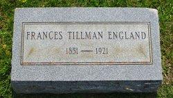 Frances <i>Tillman</i> England
