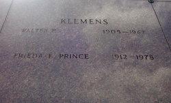 Frieda E <i>Prince</i> Klemens