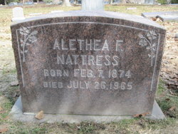 Althea Felecia Allie <i>Ringwood</i> Nattress
