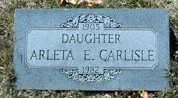 Arleta Evelyn Carlisle