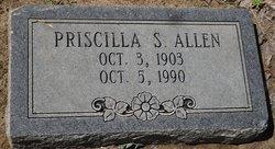 Priscilla S Allen