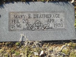 Mary E Deatherage