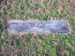 Harold Jacob Barge, Sr