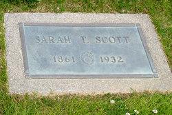 Sarah Thomas <i>Clagett</i> Scott