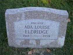 Ada Louise Eldridge