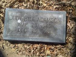 Judy <i>Hill</i> Adamson