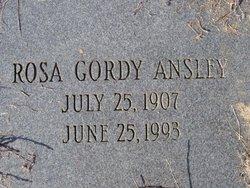 Rosa <i>Gordy</i> Ansley