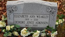 Deirdre Joyce <i>Weakley</i> Adkinson