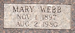 Mary <i>Webb</i> Sisler