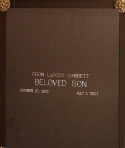 Eron LaTodd Barrett