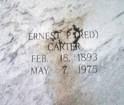 Ernest P. Red Carter
