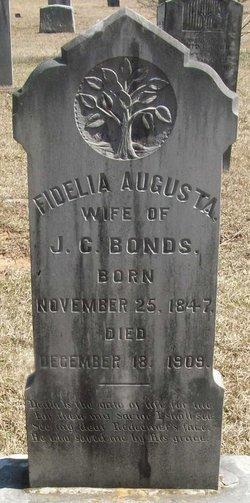 Fidelia Augusta <i>Burnett</i> Bonds
