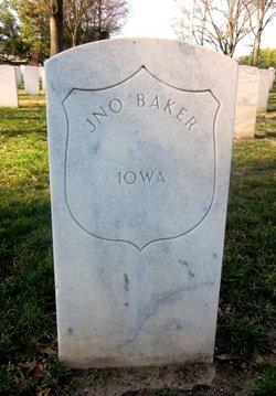 Pvt John Baker