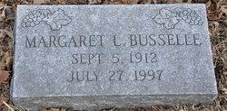 Margaret L Busselle