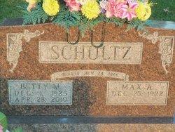 Betty M. <i>Waling</i> Schultz