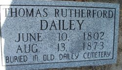 Thomas Rutherford Dailey