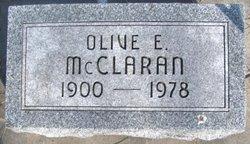 Olive E. McClaran