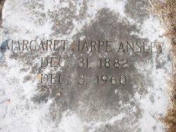 Margaret <i>Harpe</i> Ansley